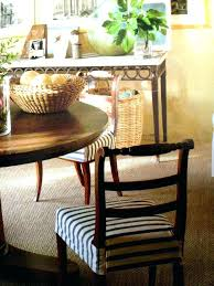 Dining Room Chair Seat Covers Patterns Seats Slipcovers Fabric Cha