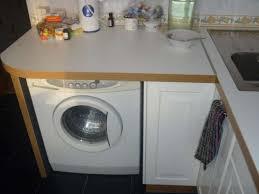 wie eine waschmaschine in der küche versteckt
