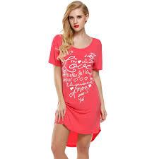 aliexpress com buy ekouaer women nightgowns summer sleepwear