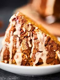 Cake Mix And Pumpkin by Easy Pumpkin Coffee Cake Recipe W Spice Cake Mix Pecans Icing