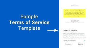 Free Standard Terms And Conditions For Services Template Service Quote