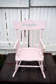 Children's Vintage Personalised Name Rocking Chair Custom Made To Order  With Your Child's Name Personalized Rocking Chairs Childrens For Kids Il Tutto Bambino Clara Chair In Grey Moon Natural Wooden Legs Amazoncom Mybambino Girls With Name Only Pretty Painted A Beautiful Baby Gift Patio At Lowescom 10 Best Rocking Chairs The Ipdent Maxie Reviews Joss Main Eames Rar Chair Upholstered Pale Rosecognac Custom Ordered Princess Tu Little Girl Personalised