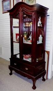 Antique China Cabinet Chippendale For Sale