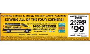 stanley steemer coupon durango montezuma carpet cleaning