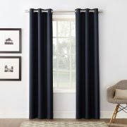 blue energy efficient blackout curtains walmart com
