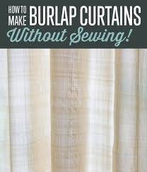 How to Make Curtains Without Sewing DIY Projects Craft Ideas & How