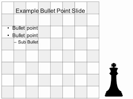 Chess Board Game Template Inside Page