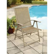 Patio Furniture Slings Fabric by Amazon Com Garden Oasis Long Beach Folding Chair Weather