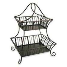 Delaware 2 Tier Basket From Bed Bath And Beyond PERFECT For All The