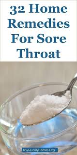 32 Home Reme s For Sore Throat Pharyngitis