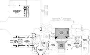 Chateau Floor Plans Chateau De Lanier House Plan