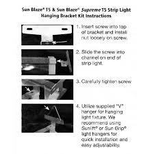 sun blaze supreme 41 4 ft t5 fluorescent grow light