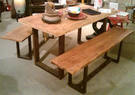 Old Wood Dining Room Table by Antique Reproduction Dining Room Reclaimed Wood Furniture