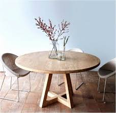 Modern Round Wood Dining Room Tables 44 Unique Circle Table Contemporary Best Design Ideas