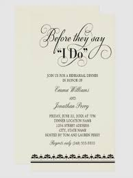 Wedding Rehearsal Dinner Invitation Rustic Wood Invitations