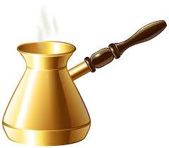Turkish Coffee Pot Transparent PNG Clip Art Image