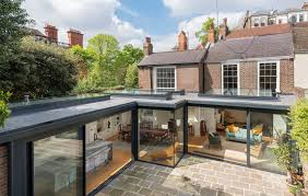 100 Glass Extention Extension To Hampstead Townhouse ODC Case Studies
