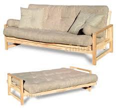 canapé lits canapé lit contemporain bois 3 places cinius
