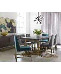 CLOSEOUT Altair Dining Furniture Set 9 Pc Table 6 Side Chairs 2 Arm Created For Macys