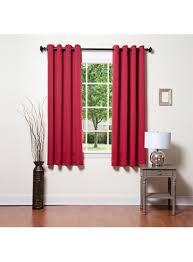 Burgundy Grommet Blackout Curtains by Familation Best Home Decor