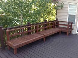 diy deck furniture deck furniture decking and backyard