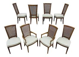 Vintage Mid Century Henredon Dining Chairs -Set Of 8 | Chairish Sold Out Henredon Asian Chinoiserie Black Lacquer Cane Seat Ding Henredon Chairs Gorgeous Set Of Ten 10 Vintage Pair Of Style Accent Wmarbelized Cushions Home Decators Special And 8 Piotrkrzystekinfo Faux Bamboo Greenhouse Bamboo 6 Oak Barley Twist Hacienda Used Fniture For Sale 413 Tips Mid Century Park Eighth W Leather Seats Upholstered Backs Four Centuries French Louis Xv