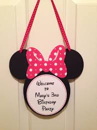 Mickey And Minnie Bathroom Accessories by Minnie Mouse Door Sign Mickey Mouse Door Sign Minnie