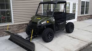 100 Used Snow Plows For Trucks 2015 Polaris Ranger 570 With A 72 Open Trail KFI Plow 4500