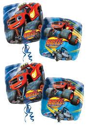 4pcs Blaze & Monster Machines 18