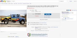 Ebay Find: International CXT Crew Cab 4x4. Make A Statement