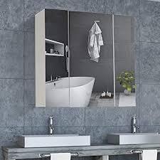 dictac spiegelschrank bad badezimmer spiegelschrank 70 x 15 x 60cm b x t x h 70 cm breit wandspiegel badspiegel mit höhenverstellbarer ablage