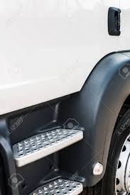 100 Steps For Truck Car And Cab Focus On The Stock Photo Picture And