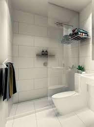 large white tile grey grout brick bond bathroom subway remodels