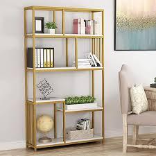 gold shelf bücherregal regal deko