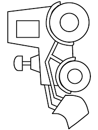 Truck14 Transportation Coloring Pages