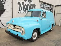 1955 Ford F100 Panel Restored To Original Condition Offered By Gas ...