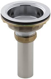 Kohler Sink Strainer Basket by Kohler K 8804 0 Duostrainer Body White Sink Strainers Amazon Com