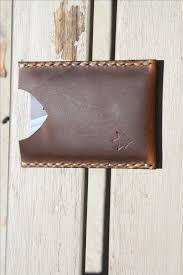buy a hand crafted minimalist wallet card holder thoroughbred