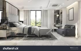 100 Modern Luxury Bedroom 3d Rendering Suite 745195885