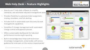Solarwinds Help Desk Free by Solarwinds Help Desk Essentials Overview
