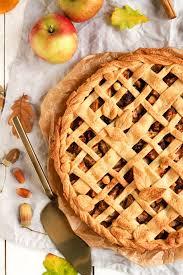 perfekt für den herbst apple pie mit mürbeteig gitter