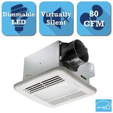 Ventline Bathroom Ceiling Exhaust Fan With Light by 50 Cfm Ceiling Exhaust Bath Fan With Light 678 The Home Depot