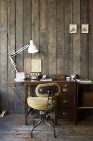 Home OfficeCozy Rustic Style Office Decor Awesome Photo