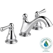 Delta Cassidy Bathroom Faucet by Delta Brass And Chrome Bathroom Faucet