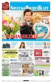 ausgabe vom 31 03 2013 beim sonntagswochenblatt