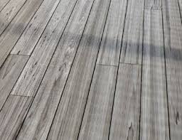 A Gray Composite Deck