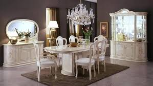 Italian Furniture Dining Set Table Chairs Designer Wood