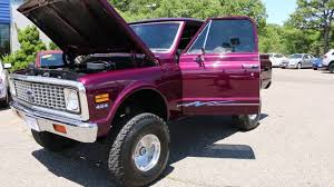 1972 Chevrolet K10 4x4 Pick Up For Sale~454~12 Bolt~Air Conditioning ...