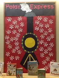 Classroom Door Christmas Decorations Pinterest by Polar Express Library Bulletin Boards Pinterest Bulletin