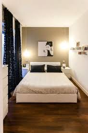 One Great Way To Make A Small Room Look Spacious Is By Eliminating Any Unnecessary Furnishings After All King Size Bed Floor Length Drapes